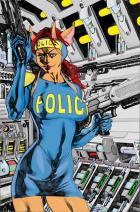 Shades _ Alien Policewoman in Color