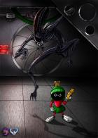 Marvin Vs. Alien