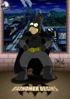 Bat-Homer Begins Art: TemporalDave Color/Addit: LocalHero