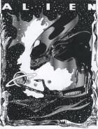 Alien movie style poster