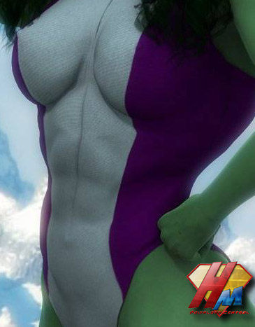 She-Hulk for V4 bodysuit