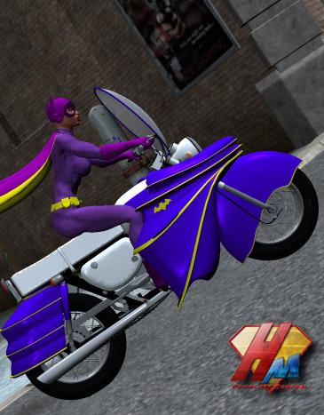 Batgirl bike