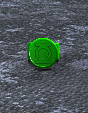 Green Power Ring & Battery