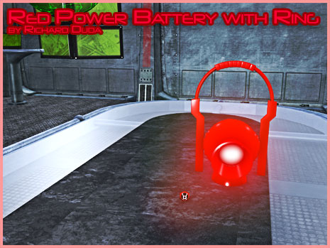 Red Power Ring & Battery