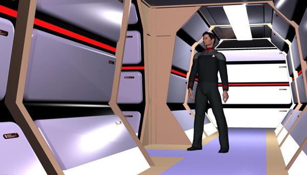 TNG Hallway Prop - Click Image to Close